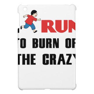 精神異常を燃焼させる走ること iPad MINI カバー