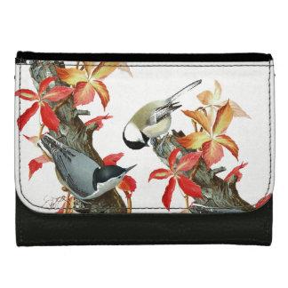 精神病院の鳥の葉の野性生物動物の財布
