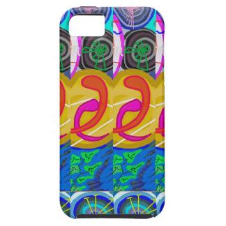 精神的な抱擁:  宇宙ディスク螺線形の円Deco iPhone SE/5/5s ケース