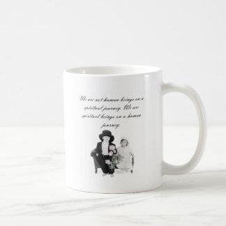 精神的な旅行 コーヒーマグカップ