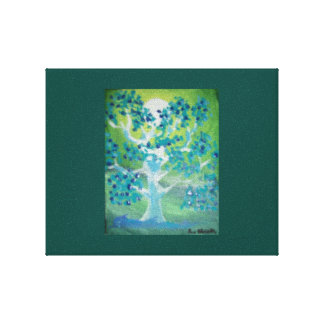 精神的な木 キャンバスプリント