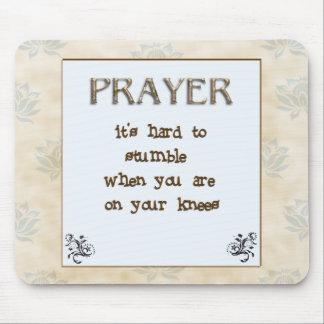 精神的な祈りの言葉の発言 マウスパッド