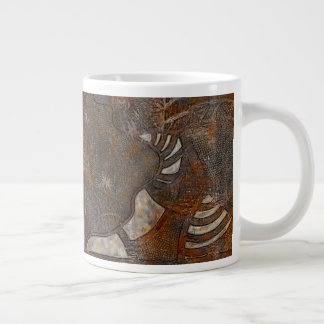 精神的に内部 ジャンボコーヒーマグカップ