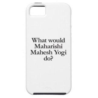 精神的指導者のmaheshのヨーガ行者する何が iPhone SE/5/5s ケース