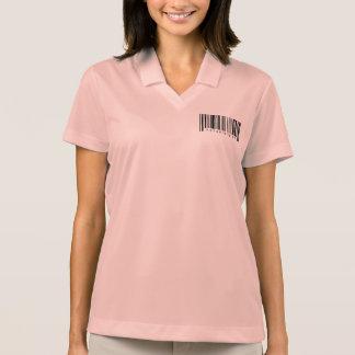 精神科医のバーコード ポロシャツ