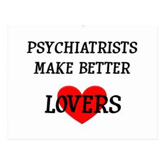 精神科医はよりよい恋人を作ります ポストカード