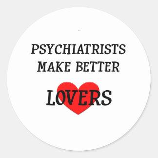 精神科医はよりよい恋人を作ります ラウンドシール