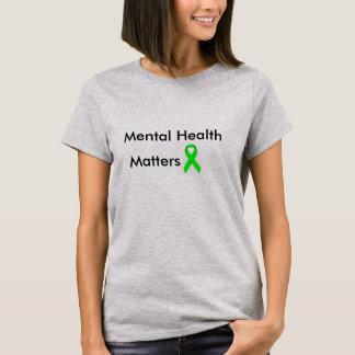 精神衛生 Tシャツ