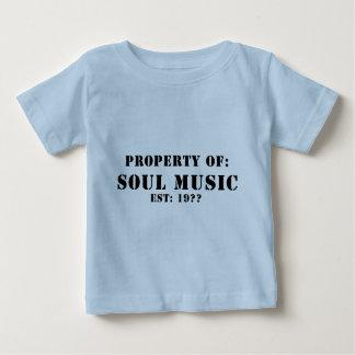 精神音楽の特性 ベビーTシャツ