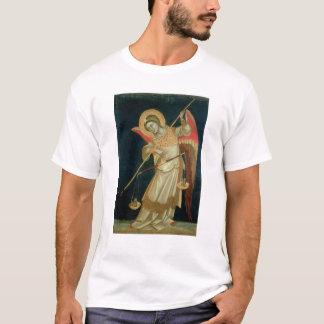 精神、c.1348-55の重量を量る天使 tシャツ