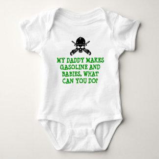 精製所のパパのための人生の精製所のベビーのギア ベビーボディスーツ