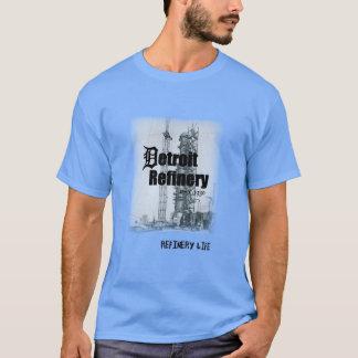 精製所の人生のデトロイト歴史 Tシャツ