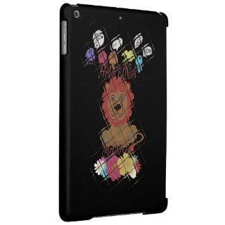 精通した光沢のある終わりのかわいいベビーのライオン王のデザイン iPad AIRケース