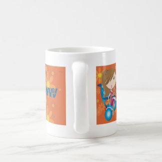 精通した コーヒーマグカップ