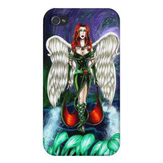 """""""精通した""""場合によるエメラルドの天使のiPhone 4のマットの箱 iPhone 4 カバー"""
