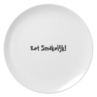 糖菓のappetitのプレートシリーズ-オランダ- Eet Smakelijk プレート