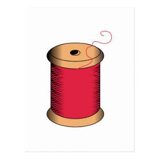 糸のスプール ポストカード