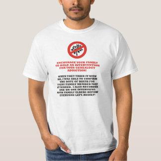 系図学の介在 Tシャツ