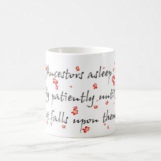 系図学の俳句 コーヒーマグカップ