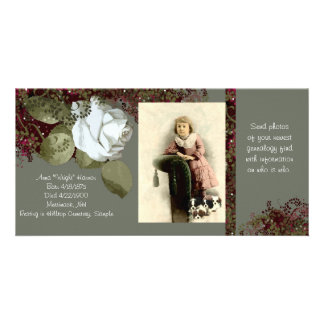 系図学の写真カード カード