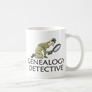 系図学の探偵 コーヒーマグカップ