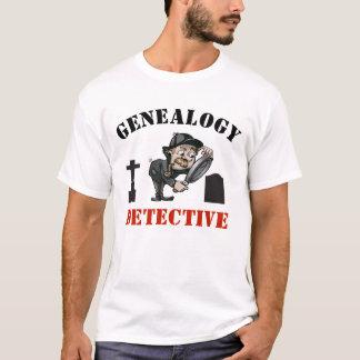 系図学の探偵 Tシャツ