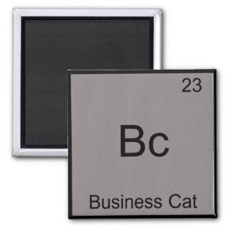紀元前に-ビジネス猫おもしろいな化学要素の記号 マグネット