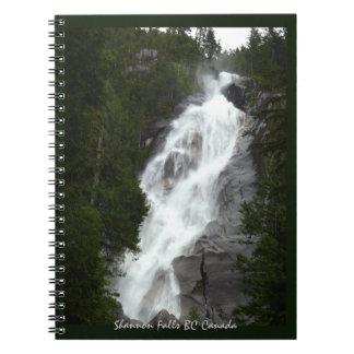 紀元前の滝のノートのShannonの滝の記念品 ノートブック