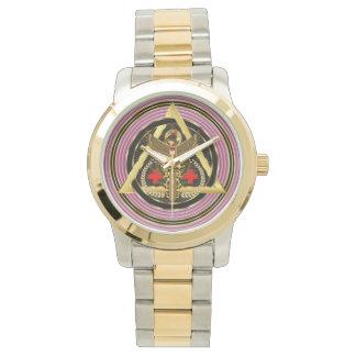 約医学の普遍的なデザインの芸術家の概念の意見 腕時計