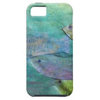 約泳いでいる魚 iPhone SE/5/5s ケース