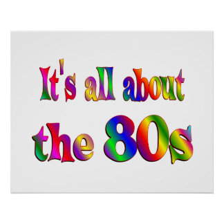 約80年代 ポスター