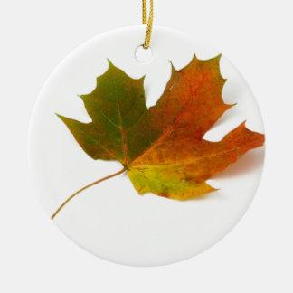 紅葉のカエデの葉 セラミックオーナメント