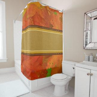 紅葉のシャワー・カーテン シャワーカーテン
