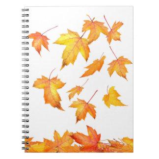 紅葉のノート ノートブック