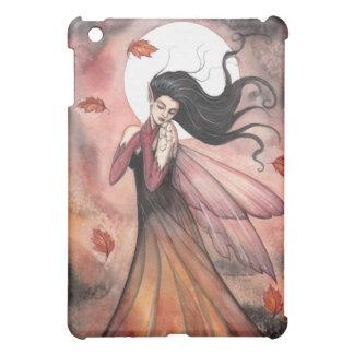 紅葉の妖精のファンタジーの芸術のiPadの場合 iPad Miniケース