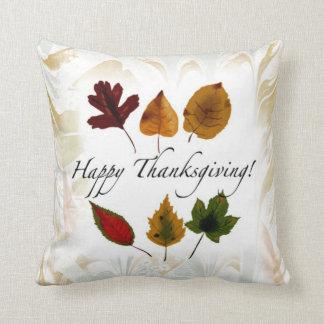 紅葉の幸せな感謝祭のカスタムの枕 クッション