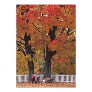 紅葉の招待状 カード