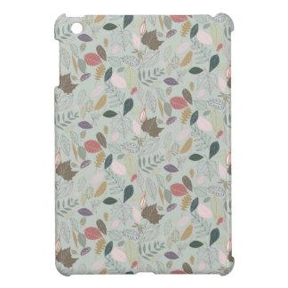 紅葉の朝の霧 iPad MINI CASE