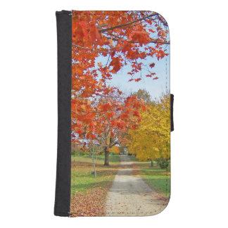 紅葉の秋 ウォレットケース