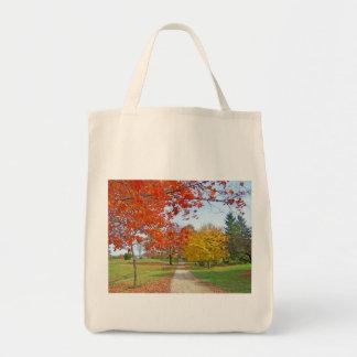紅葉の秋 トートバッグ