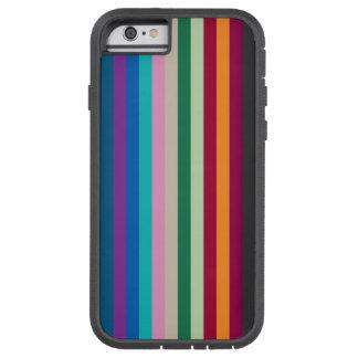 紅葉の縦ストライプ TOUGH XTREME iPhone 6 ケース