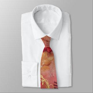 紅葉の首のタイ ネクタイ