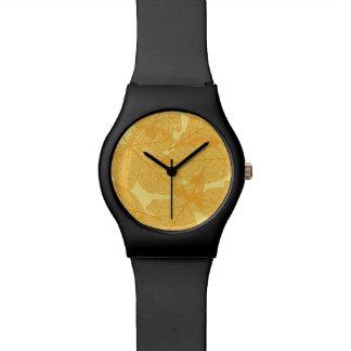 紅葉パターン 腕時計