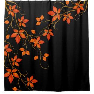 紅葉 シャワーカーテン