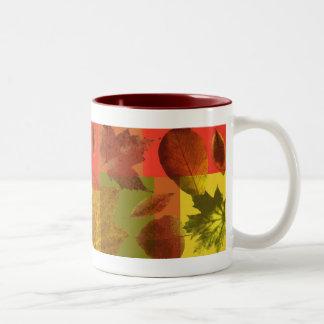 「紅葉 ツートーンマグカップ