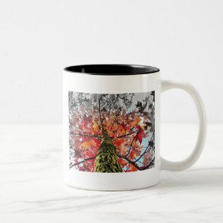 紅葉 ツートーンマグカップ
