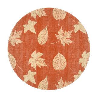 紅葉-マンダリンオレンジ カッティングボード