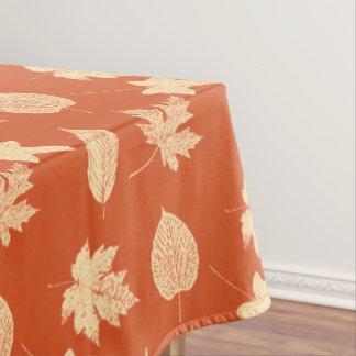 紅葉-マンダリンオレンジ テーブルクロス