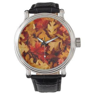 紅葉-秋色 腕時計