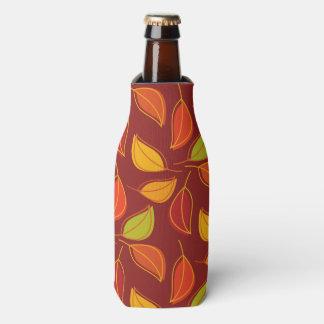 紅葉、紅葉-オレンジ黄色の赤 ボトルクーラー